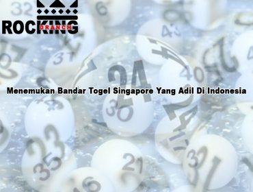 Togel Singapore Yang Adil Di Indonesia - RockingDranch